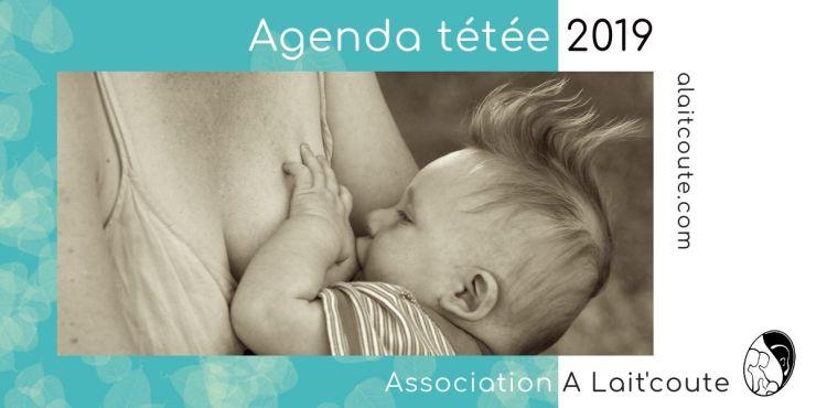 Agenda des rencontres de soutien pour allaiter d'A Lait'coute à Brioude et Langeac, en Haute-Loire, en Auvergne Rhône-Alpes