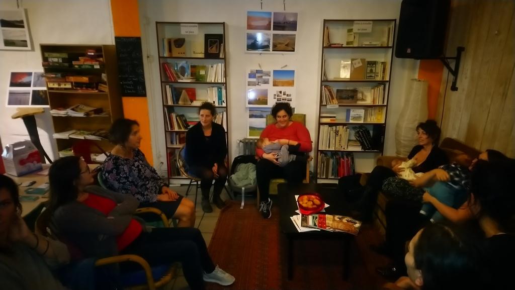 La rencontre allaitement maternel le Café Tétée SMAM 2019 organisé par A Lait'coute à Brioude en Haute-Loire photo 2