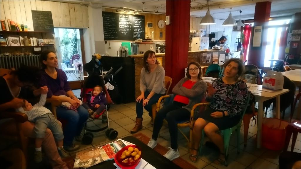 La rencontre allaitement maternel le Café Tétée SMAM 2019 organisé par A Lait'coute à Brioude en Haute-Loire photo 3